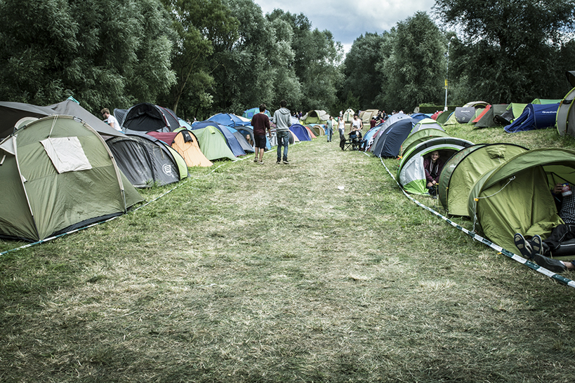 camping cabaret vert