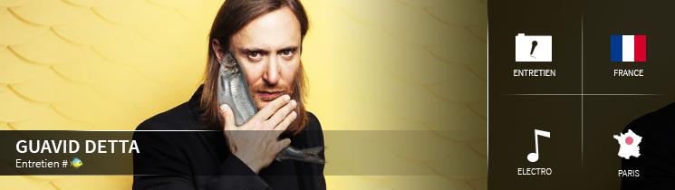 Entretien avec David Guetta