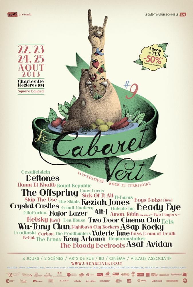 le cabaret vert 2015 - l u0026 39 affiche de la discorde