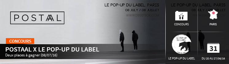 Postaal Le pop-up du label