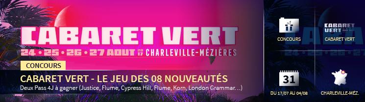 Concours Cabaret Vert 2017