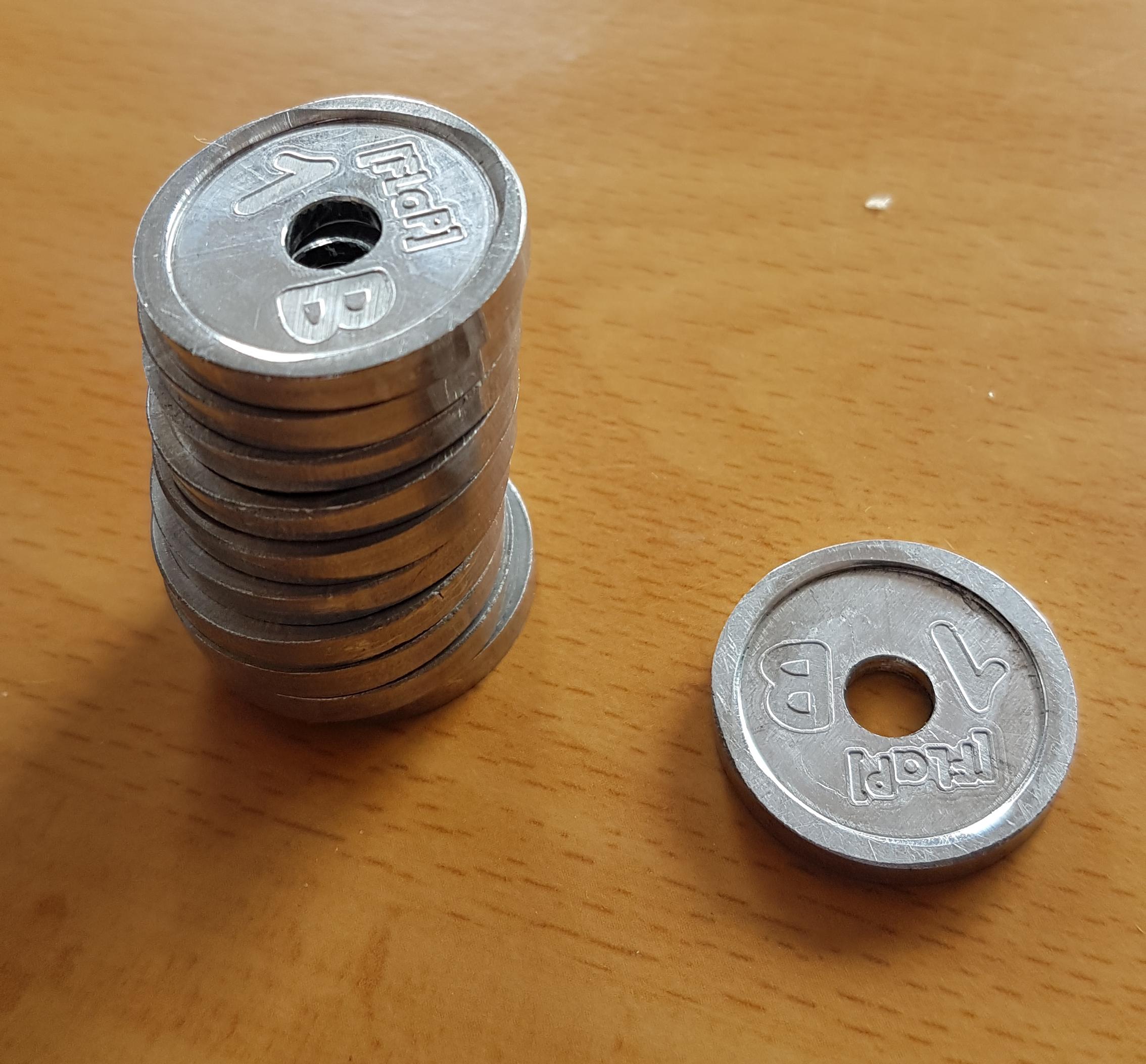 Les nouveaux Bayards en aluminium